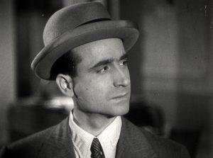 """1946. JHC, en el rodaje de la película """"Consultaré a Mister Brown"""", dirigida por Pío Ballesteros, mayo 1946"""
