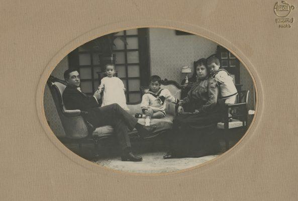 1917.1. Jacinto Higueras Cátedra, con 3 años