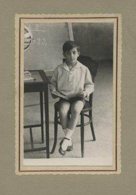 1922.3. JHC; en el Colegio, Madrid
