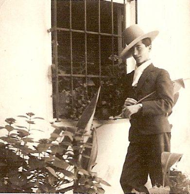 1930. JHC, en su pueblo natal Santisteban del Puerto, Jaén, 1930