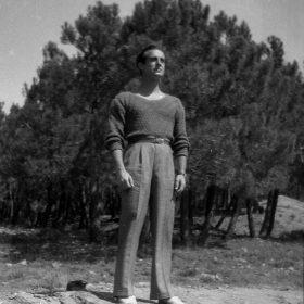 1931.2. JHC, en El Escorial, verano de 1931 (Digitalizada baja resolución)
