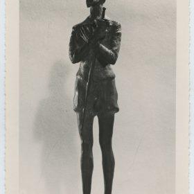 1948.3. Don Quijote, Trofeo, Bronce, 24,5x06x04 cms. Certamen Cinematográfico Hispanoamericano, 1948