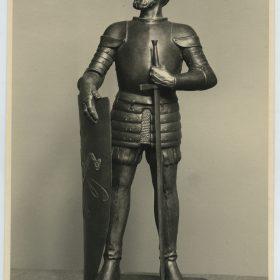 1948.4., Álvaro Fernández de Lugo, Trofeo. Bronce, 70 cm. Asesoría Nacional de Cultura y Arte para Canarias, 1948