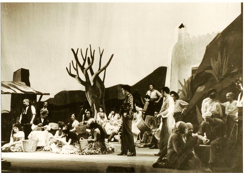 1959.3. La Tempranica, de Jiménez. Dirección escénica y nuevo montaje de JHC. Teatro de la Zarzuela, Madrid. Junio 1959