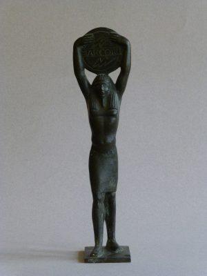 1960.2. Trofeo Marconi, Faraón, bronce. Radio Nacional de España. 1960
