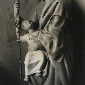 1962.2. San José, talla policromada, 190 cm. Encargo del Obispado de Sigüenza. Seminario de Sigüenza. 1962