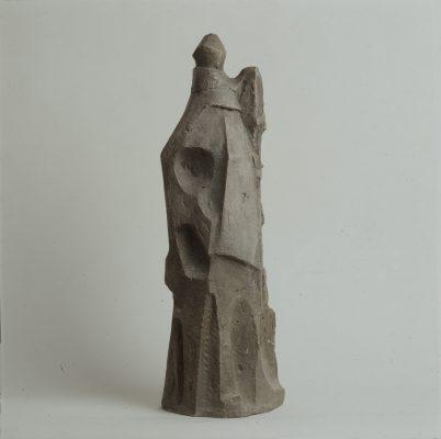 1967.2. Pastor, bronce, hormigón patinado, 63x20x16 cms. 1967
