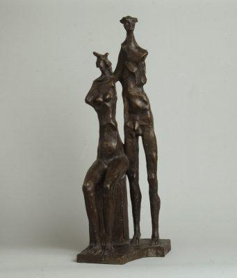 1969.11. Matrimonio torero, bronce, 66x21x22 cms.1969