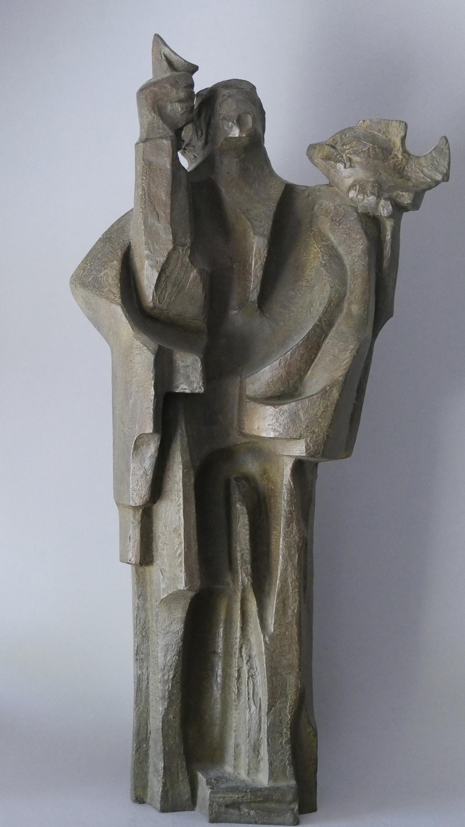 1970.3. El Profeta, bronce, 56x14,5x12 cms. 1970