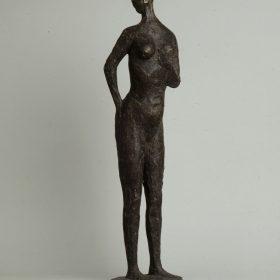 1971.5. Desnudo de mujer, bronce. 1972