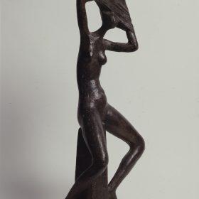 1976.6. Strip tease, bronce, 60x28x20 cms. 1976