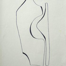 1977.7. Forma. 31x21 cm. Rotulador negro.