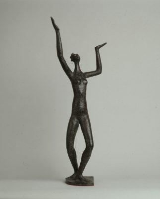 1981.5. Hale Hop, bronce, 74x21x30 cms. 1981