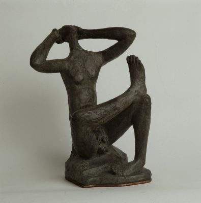 1982.1., Adán, bronce, 37x20x25 cms. 1982