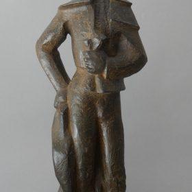 1983.1. Torero de Capea, bronce, 55x20x15 cms.. 1983