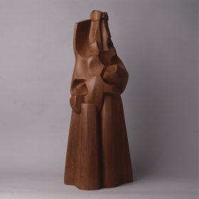 1986.1. Don Favila, madera, 70x27x26 cms. 1986