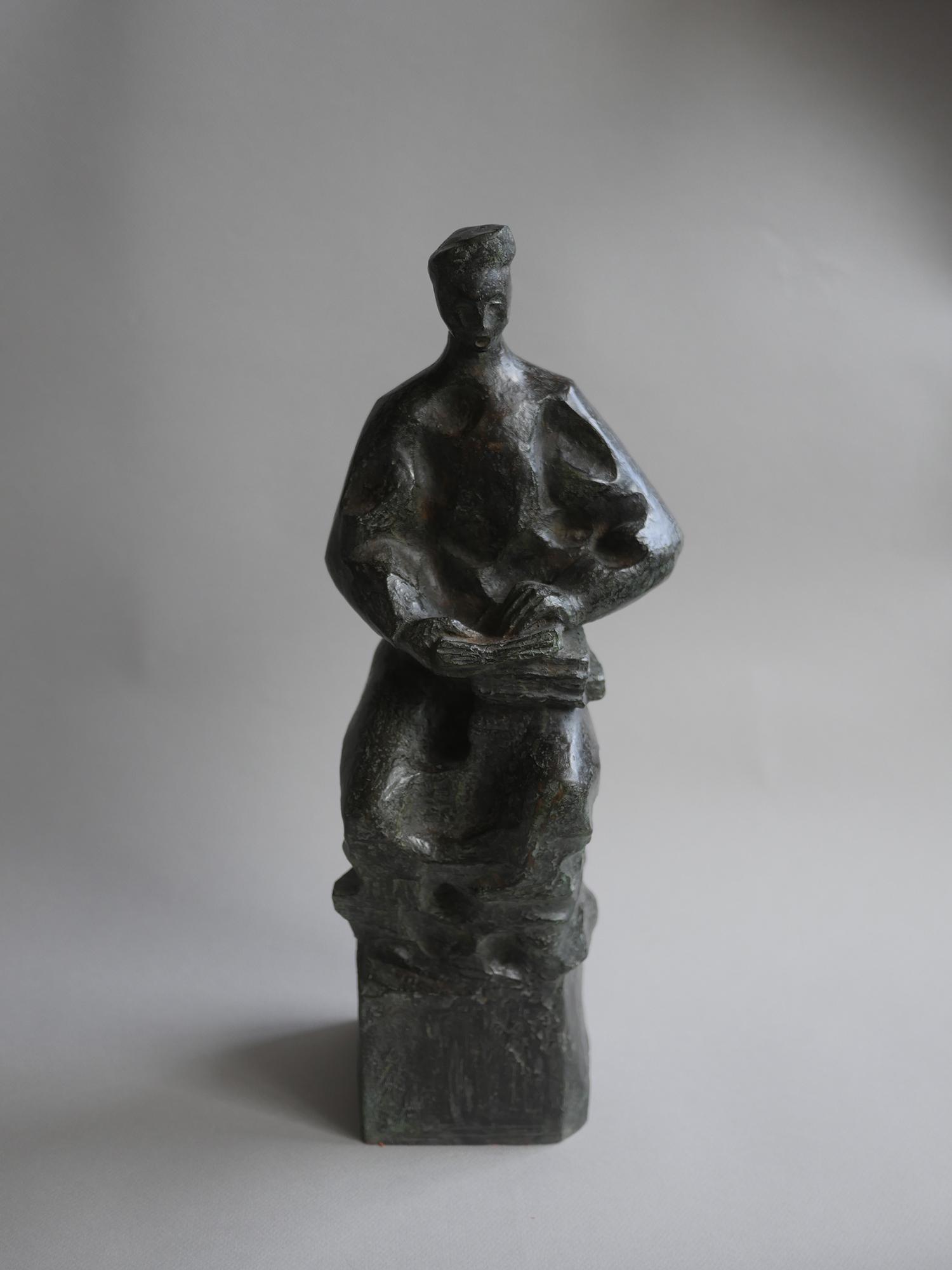 1987. Cantor de salmos, Mayólica, 44x17x16 cms. 1987