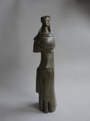 1988.3. Mujer antigua, bronce, 48x12x11 cms. 1988