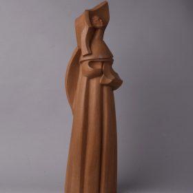 1990 El otro Arcángel, madera, 66x16x20 cms. 1990