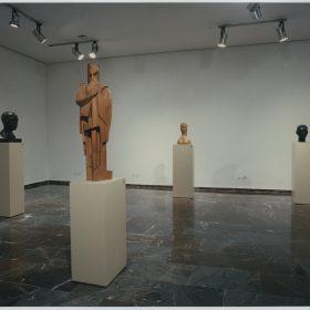 1996.4. Exposición Antológica de JHC en el Museo Provincial de Jaén, 26 de septiembre de 1996