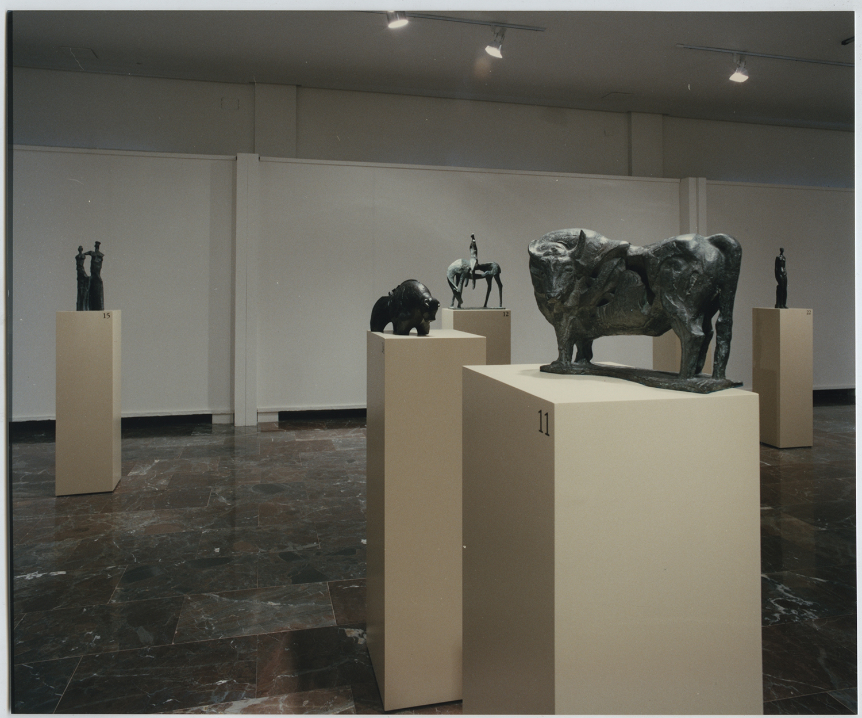 1996.5. Exposición Antológica de JHC en el Museo Provincial de Jaén, 26 de septiembre de 1996