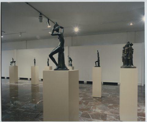 1996.6. Exposición Antológica de JHC en el Museo Provincial de Jaén, 26 de septiembre de 1996