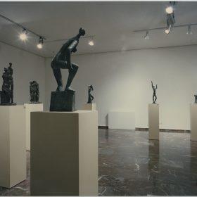 1996.7. Exposición Antológica de JHC en el Museo Provincial de Jaén, 26 de septiembre de 1996